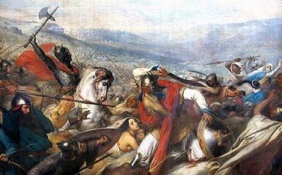 The Battle of Tours marked a turning point in medieval history.