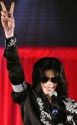 Michael Jackson in London.