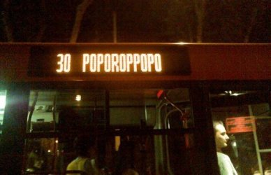 The Rome night bus can reserve unpleasant surprises.
