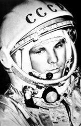 Yuri Gagarin, 1961.