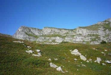 Hannibal had to trek across these rocks.