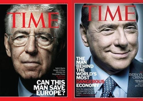 The Western media has long bashed Berlusconi.