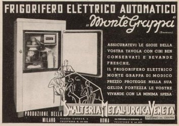 "General Electric introduced the ""Monitor-Top"" refrigerator in 1927."