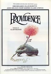 "In 1977's ""Providence,"" John Gielgud and Alain Resnais conspired to give a story about one man's death a dose of panache."