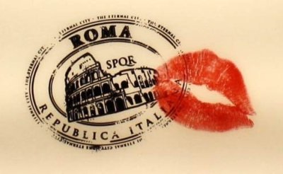 Detail from a poster from Woody Allen's To Rome With Love.
