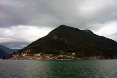 Lago d'Iseo is less well known than either Como or Garda.