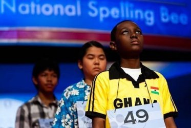 Contestants at the 2010 Scripps Spelling Bee in Washington, D.C.