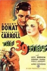 """In his 1935 """"The 39 Steps,"""" based on John Buchan's novel, Alfred Hitchcock demonstrates an early knack."""