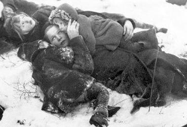 In all, more than 300,000 Dutch perished in World War II.