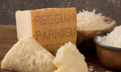 Parmesan is among the first hard food eaten by Italian children.