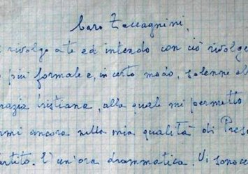 The letters became a kind of Italian reality show.