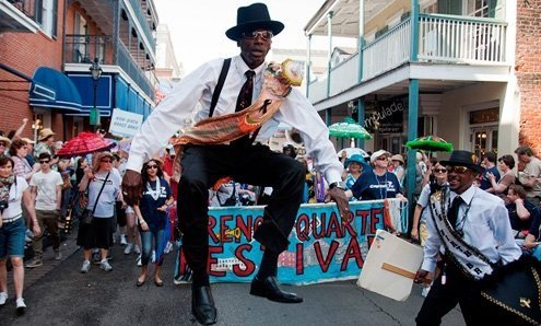 Zydeco, gospel, R&B, traditional and contemporary jazz and New Orleans Funk.