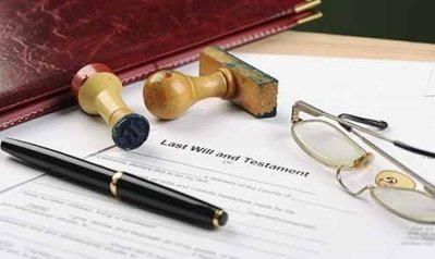 A will is as legally sacrosanct as documents come.