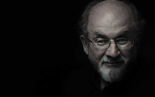 Rushdie can't resist going after Donald Trump.