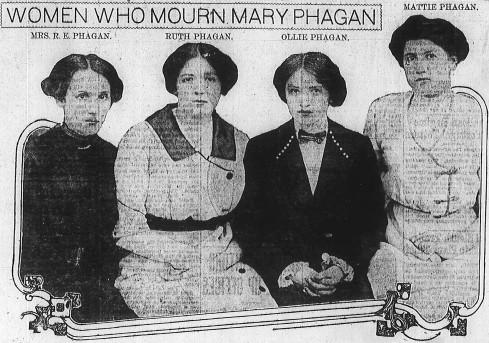 A few members of Mary Phagan's family; originally published in the Atlanta Georgian