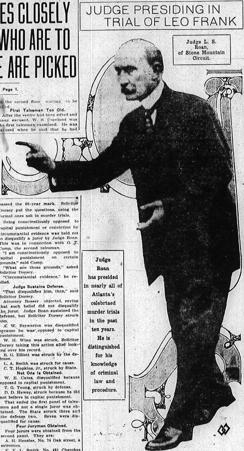 Judge Leonard Strickland Roan
