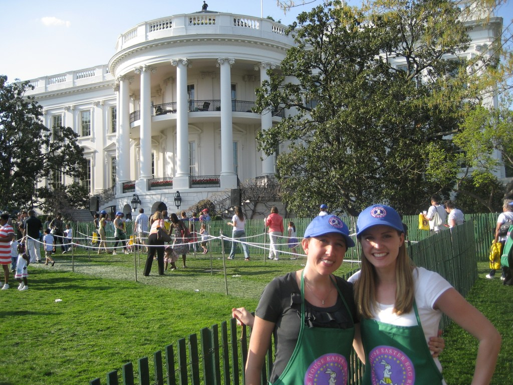 White House Easter Egg Roll volunteers