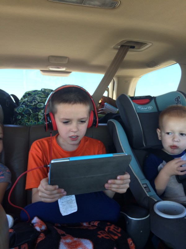 Road tripping with kids