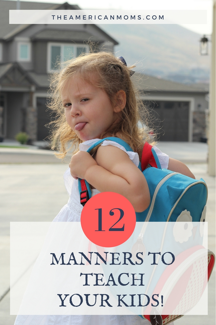 Teaching Kids Manners
