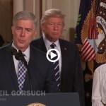 President Trump Nominates Neil Gorsuch to Supreme Court