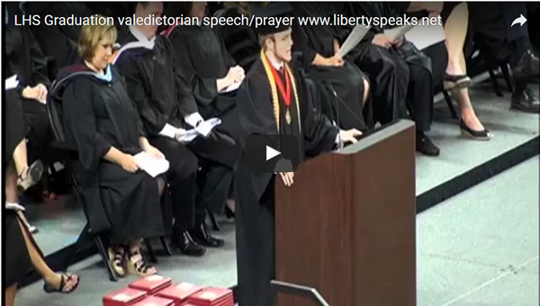 Interview: Valedictorian Roy Costner IV on Ripping Up His Approved Speech, Reciting Lord's Prayer
