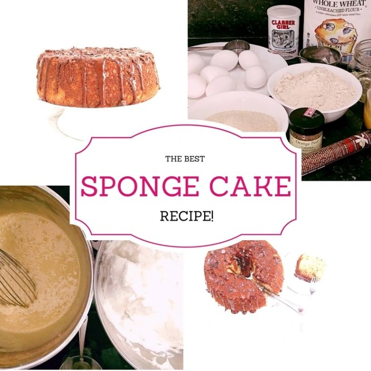 Ultimate Vanilla Sponge Cake Recipe