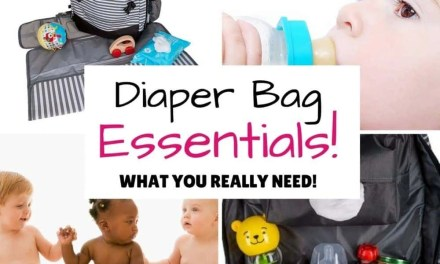 Diaper Bag Essentials – The complete guide!