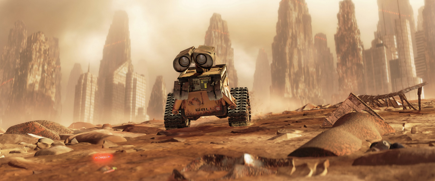 Image result for wall-e environment