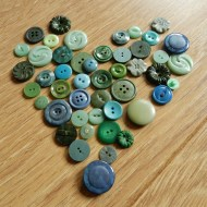 Magpie Monday & I Love Mondays: Button Crazy (again)