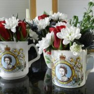 Jubilee Table Decoration