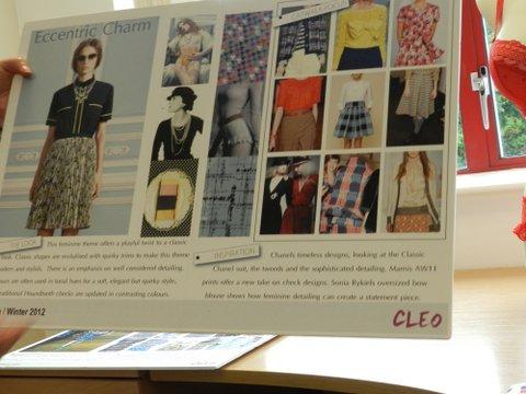Cleo mood board