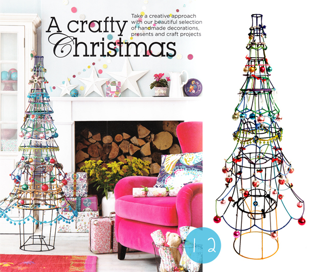 Sarah Moore Christmas Tree from Lampshades