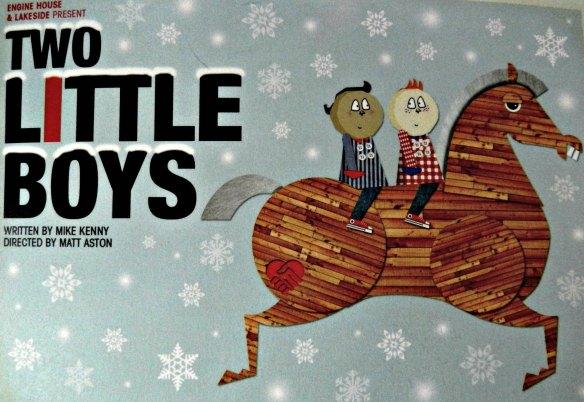 Two Little Boys engine house, lakeside