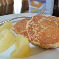 Cooking With Grapefruit : Wholemeal Breakfast Pancakes