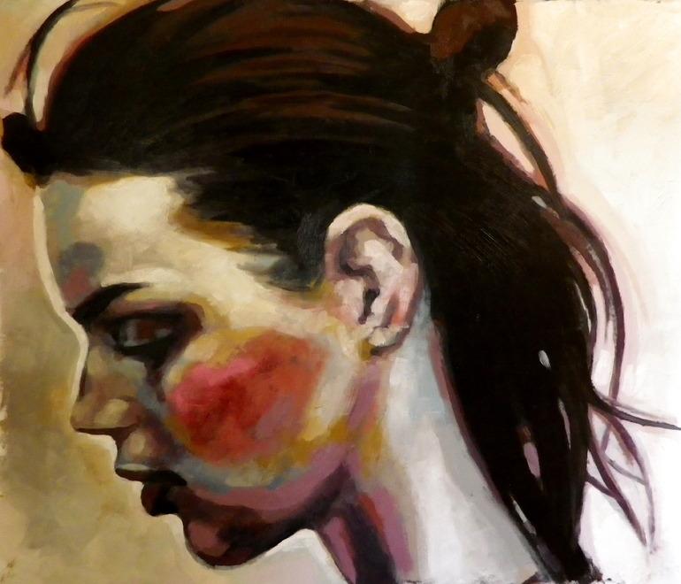 Thomas Saliot face, portrait