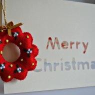 A Simple Homemade Christmas Card Using a Cricut Mini
