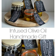 Simple but gorgeous handmade gifts : Infused Olive Oil