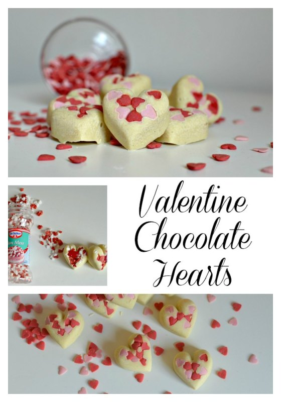 Valentine Chocolate hearts, perfect for gifts