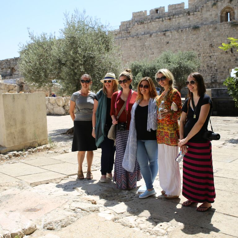 Jerusalem, the Blogger tem