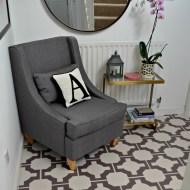 Hallway and Cloakroom Floor Makeover : Harvey Maria