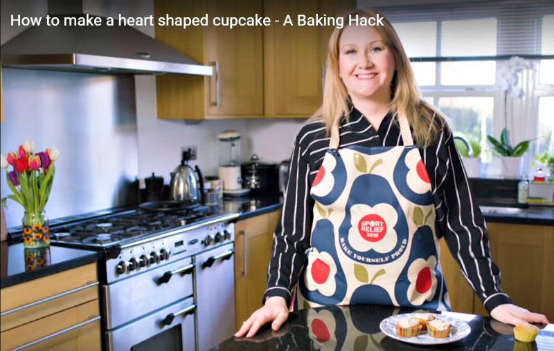 sport relief orla keily apron 2016
