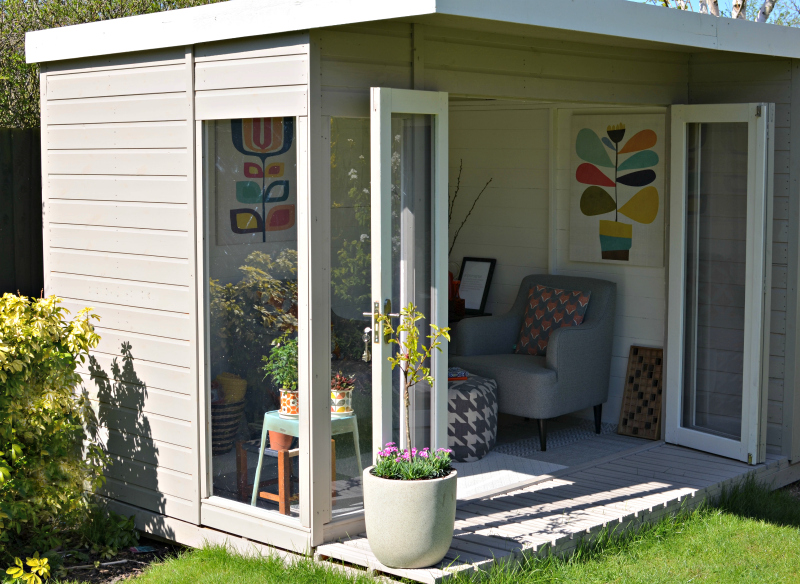 ... Like I Did Turning My Garden Shed Into A Lovely Summerhouse, Where I  Can Retreat And Relax When Things Get A Bit Too Hectic In The House.