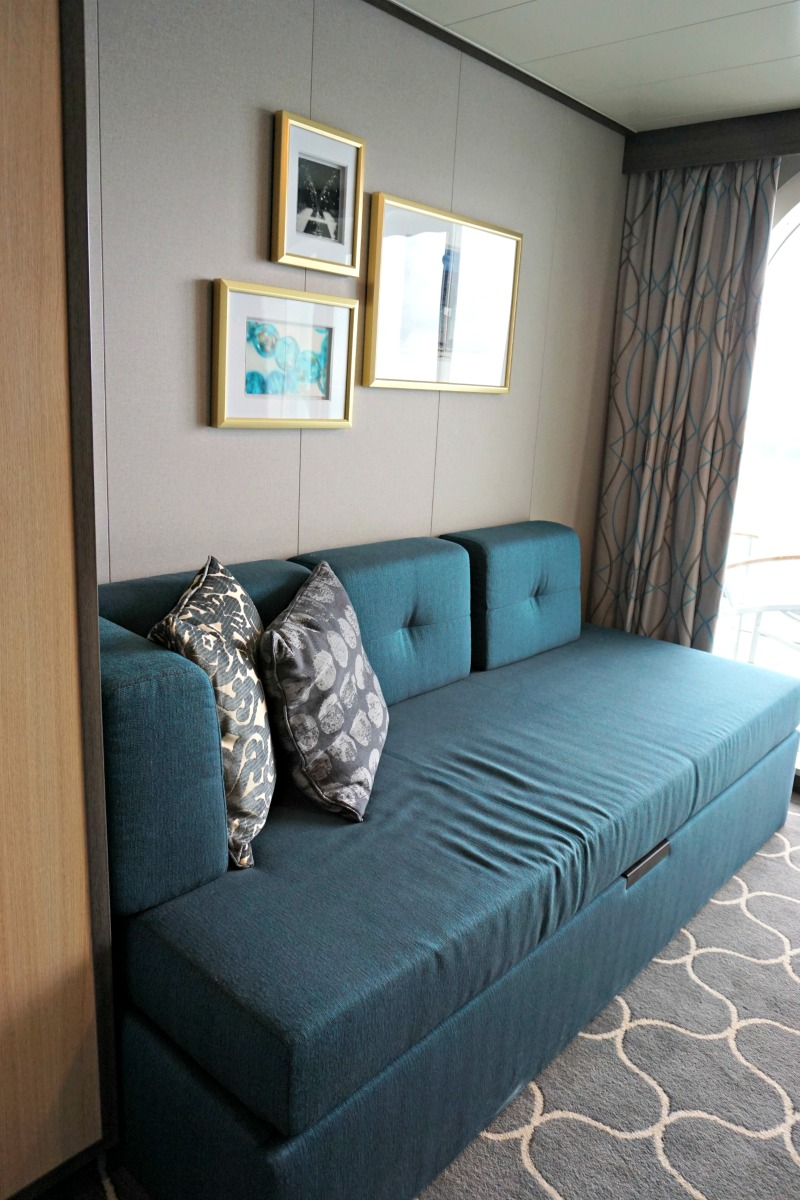 The largest cruise ship in the world harmony of the seas - What is a sofa bed ...