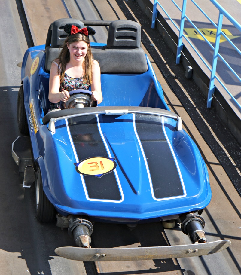 Tomorrowland Speedway Magic Kingdom