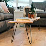 How to make an easy hairpin leg coffee table