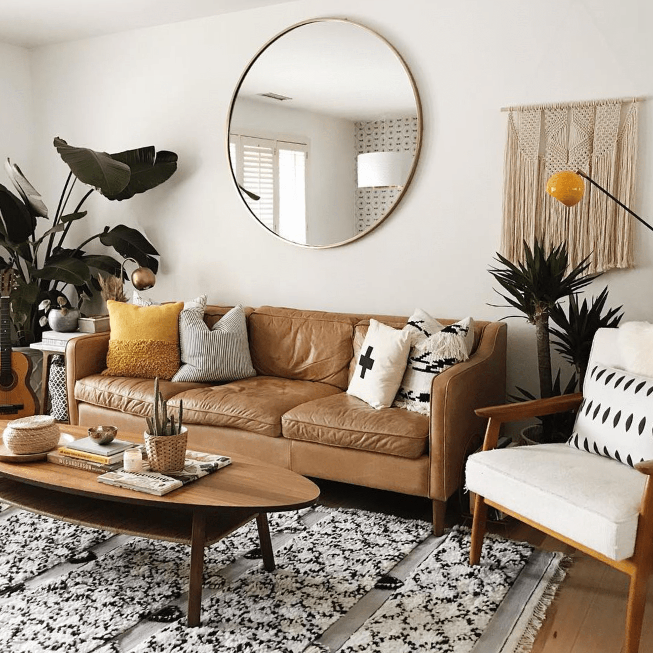decorating small living room apartment catalog blog the anastasia co ideas a mirror in right place will make