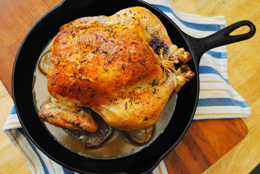 Impressive Roast Chicken