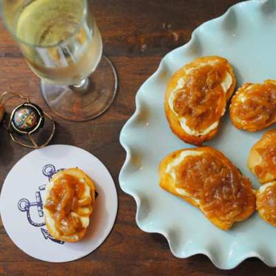 Caramelized Onion Appetizer