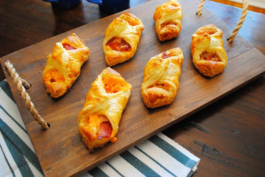 Puff Pastry Breakfast Parcels