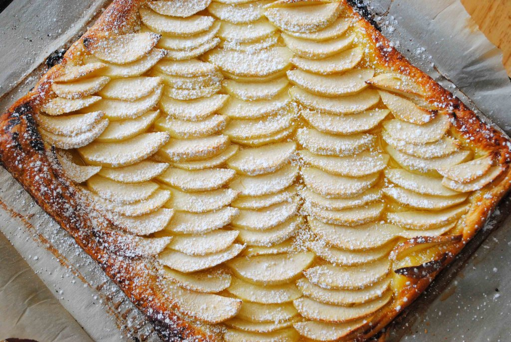 Easy Apple Lemon Tart